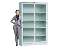 HDK-03 Upper/Lower Glass Sliding Cabinet