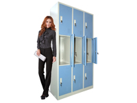 HDL-14 9-door locker