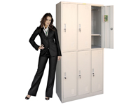 HDL-13 6-door locker