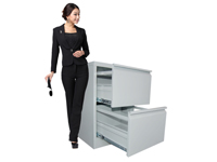 HDX-17A-1 Vertical 2-drawer Archival Cabinet